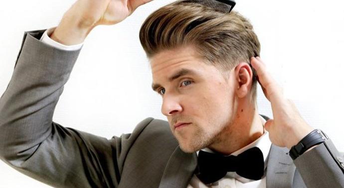 cách vuốt sáp tóc nam