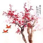 Tranh Tết hoa đào – 5