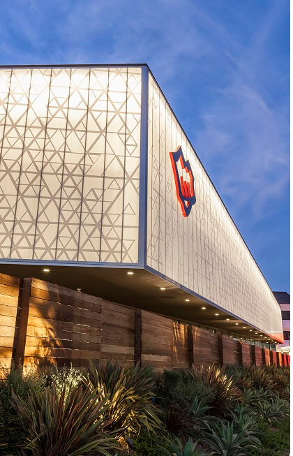 a danpal curtain wall system fights against mold and moisture