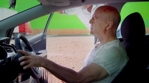 Bruce Willis Top Gear