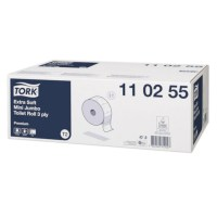 Tork Toiletpapir T2 Mini Jumbo Premium 120m 3-lags 12 ruller