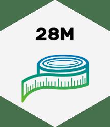 28 Meter