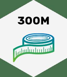 300 Meter
