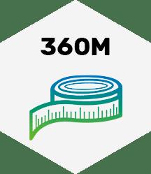 360 Meter