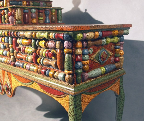 Folk Art Painted Furniture