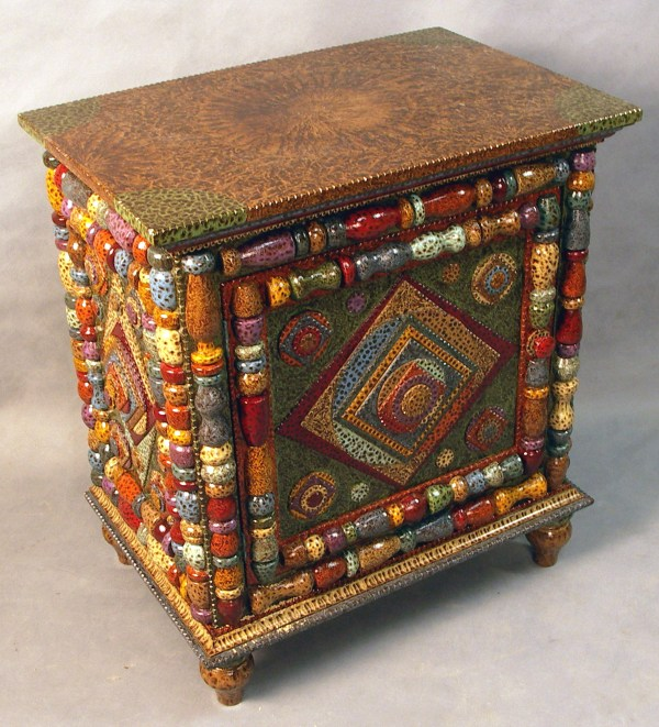 Hand Painted Folk Art Furniture