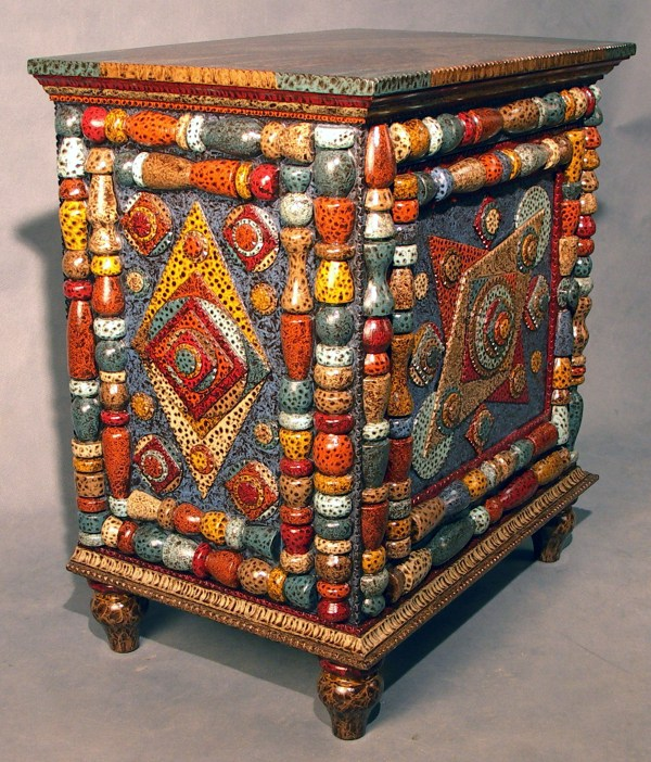 Hand Painted Folk Art Furniture