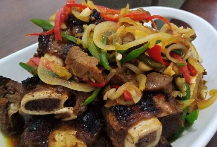 cara membuat iga saus thailand yang enak dan juga sedap