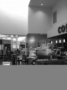 """Costa's slogan, """"The Americano Addicts."""""""