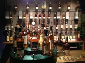 The Glenkinchie Distillery bar.