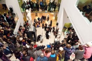 Evening event at the Ashmolean.