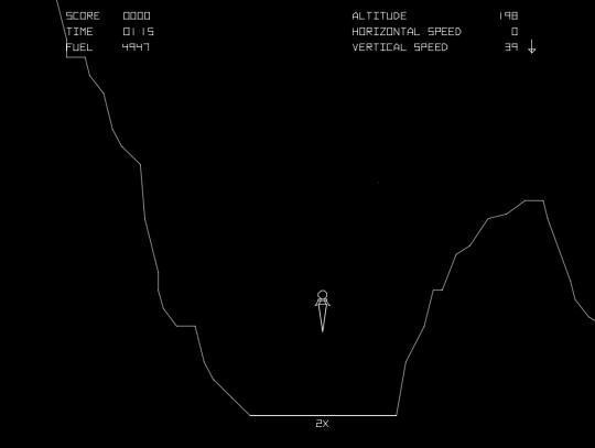 Atari's Lunar Lander (1979)