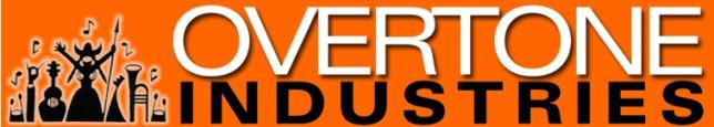 Overtone banner