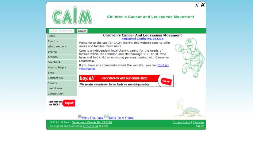 CALM Charity