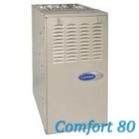 Carrier Comfort 80 Gas Furnace   HVAC Contractor - Dan's Air