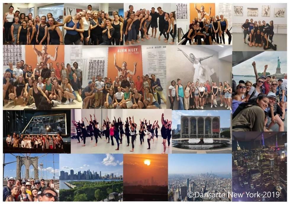 Notre voyage à New York en 2019, moments magnifiques de danse et partage.