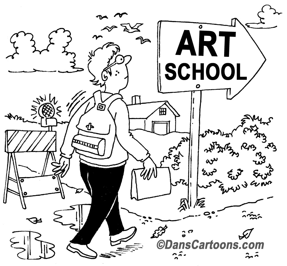 CARTOON ART EDUCATION TUITION FOR STUDENTS OF GRAPHIC
