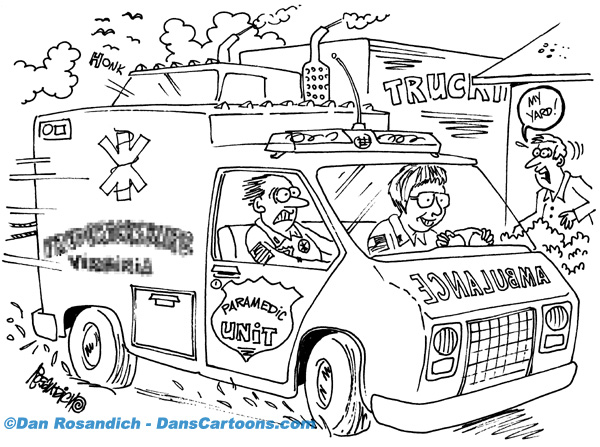 Patrol Officer Cartoons About Police And Law Enforcement