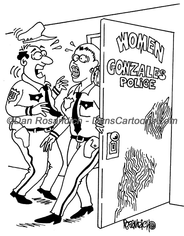 Police Cartoons About Cops And Law Enforcement