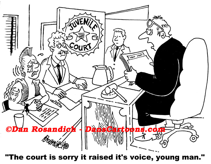 Judge Cartoons About Judges And Courtroom Cartoon Humor