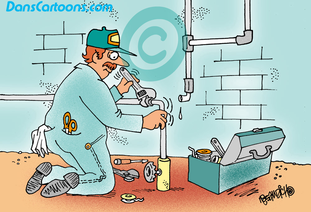 Plumbing Cartoons About Plumbers And Hvac