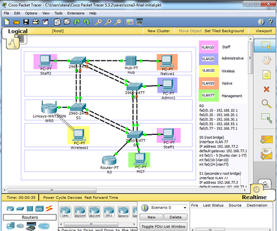 Packet Tracer Switching Final