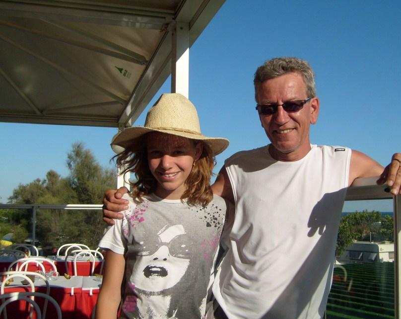 met pappa vakantie