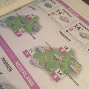 ad krant weerbericht
