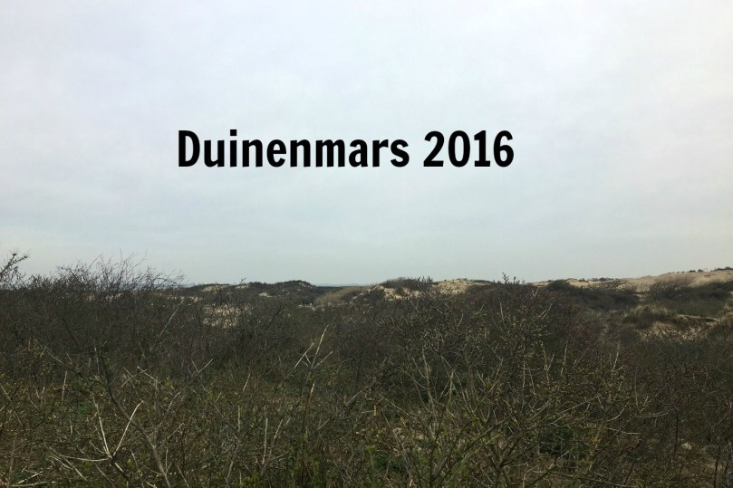 Wandelen: Duinenmars 2016