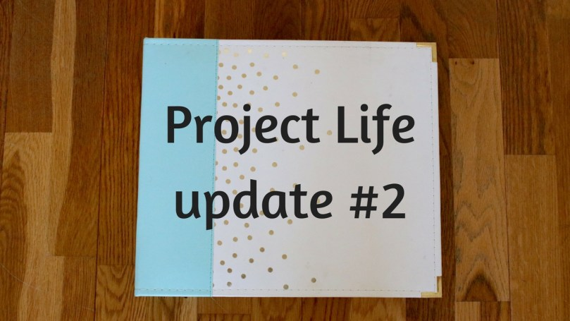 Project Life update #2 (foto's + video!)