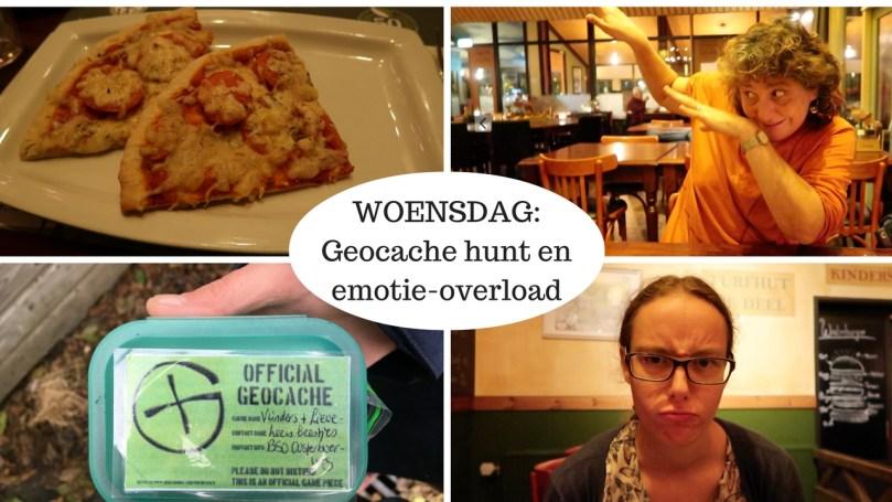 VLOG: Woensdag – geocache hunt en emotie-overload