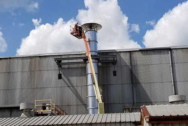 exhaust stack solution industrial