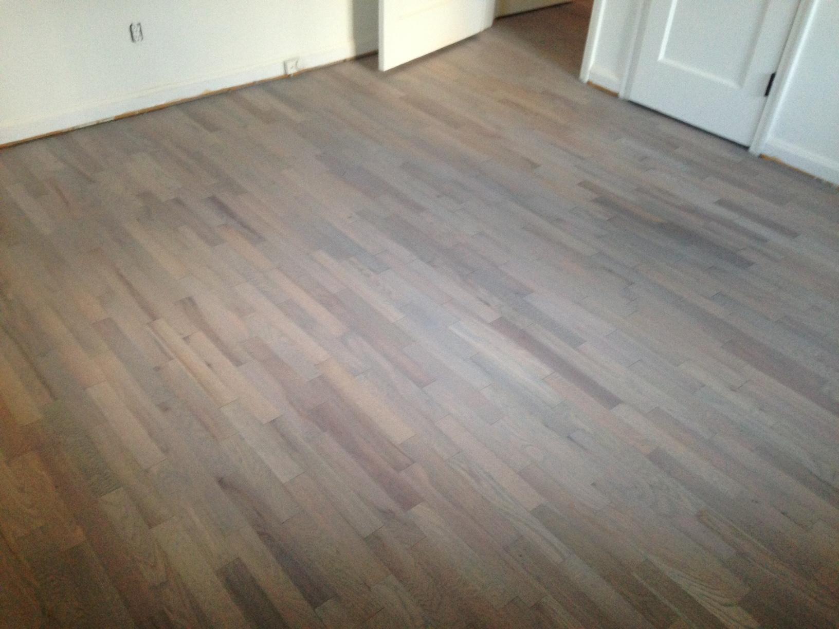 Refinishing Wood Floors for a Beach House Look  Dans