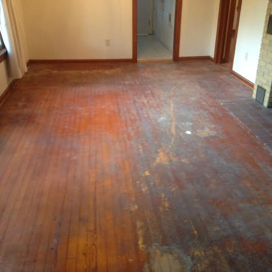 Refinishing Old Heart Pine Floors in St Augustine  Dans