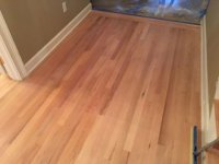 Whitewashed Refinished Red Oak Flooring - Sawgrass TPC