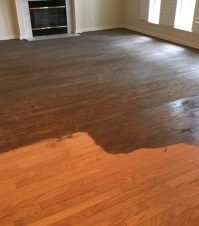 Red Oak Flooring Refinishing - Cimarrone Country Club