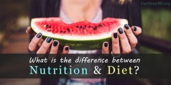 What is the Difference Between Nutrition & Diet?
