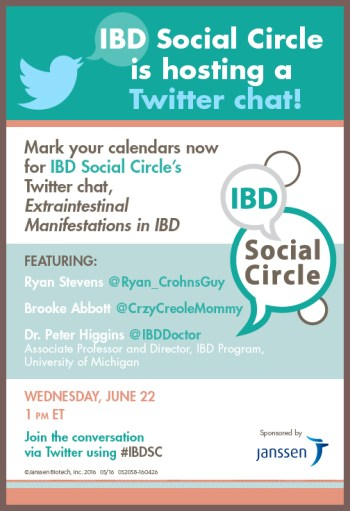 IBDSC chat - Extraintestinal manifestations in IBD