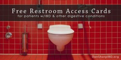 Free Restroom Access Cards