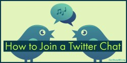 how to join a twitter chat