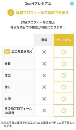 QooN(クーン)プレミアムオプション1
