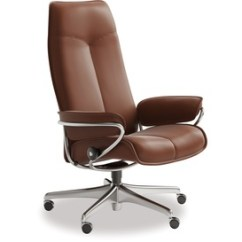 Recliner Office Chair Nz Seat Lift Stressless Home Chairs Danske Mobler Furniture City Leather High Back
