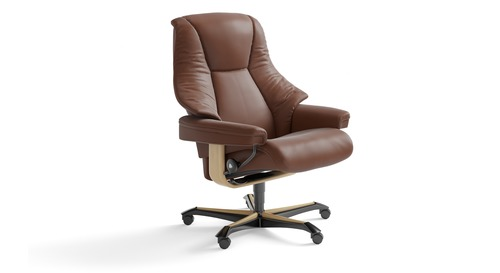 recliner office chair nz red wood dining chairs stressless home danske mobler furniture live leather
