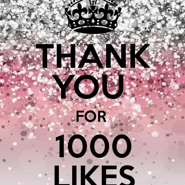 1000 tak!