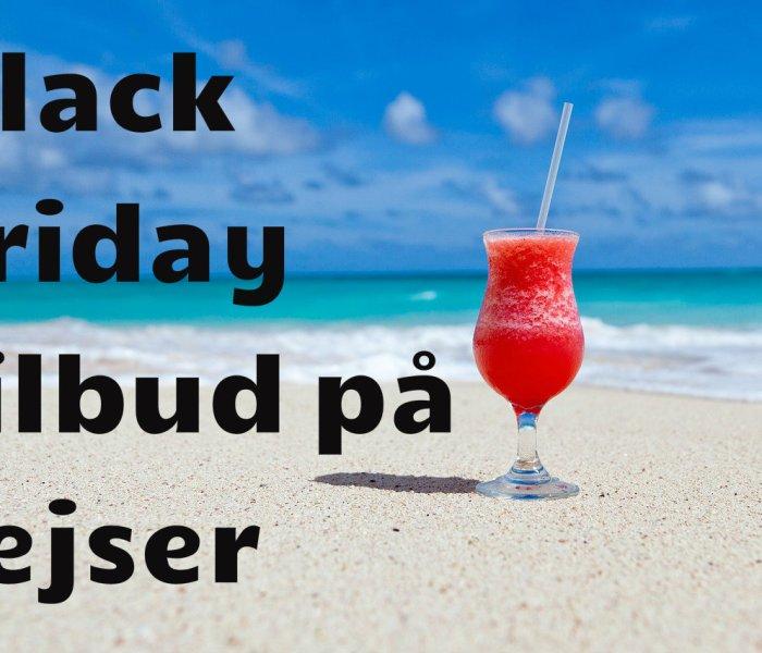 Black Friday tilbud på rejser