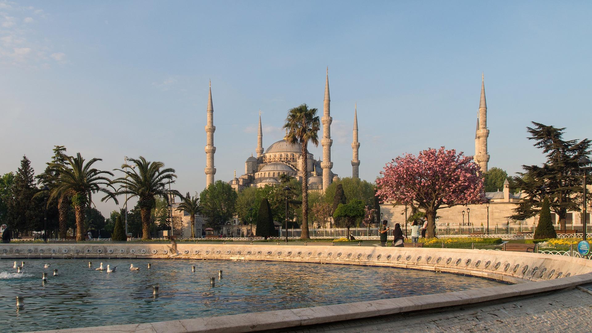 Sultan ahmet camii / Den blå moske i Istanbul