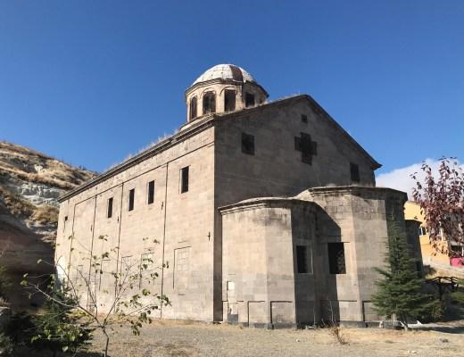 aziz dimitrios kirken Gülsehir, oplevelser i Gülsehir, oplevelser i kappadokien, oplevelser i Cappadocia, kirker i Tyrkiet, Kirker i Kappadokien,