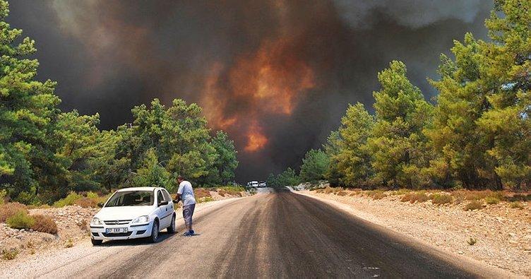 Skovbrande i manavgat, skovbrande i Tyrkiet