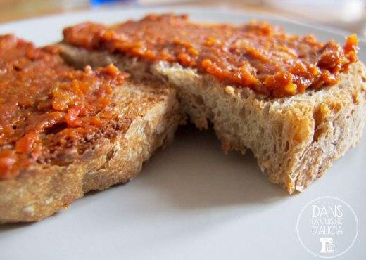 Tapenade tomates séchées