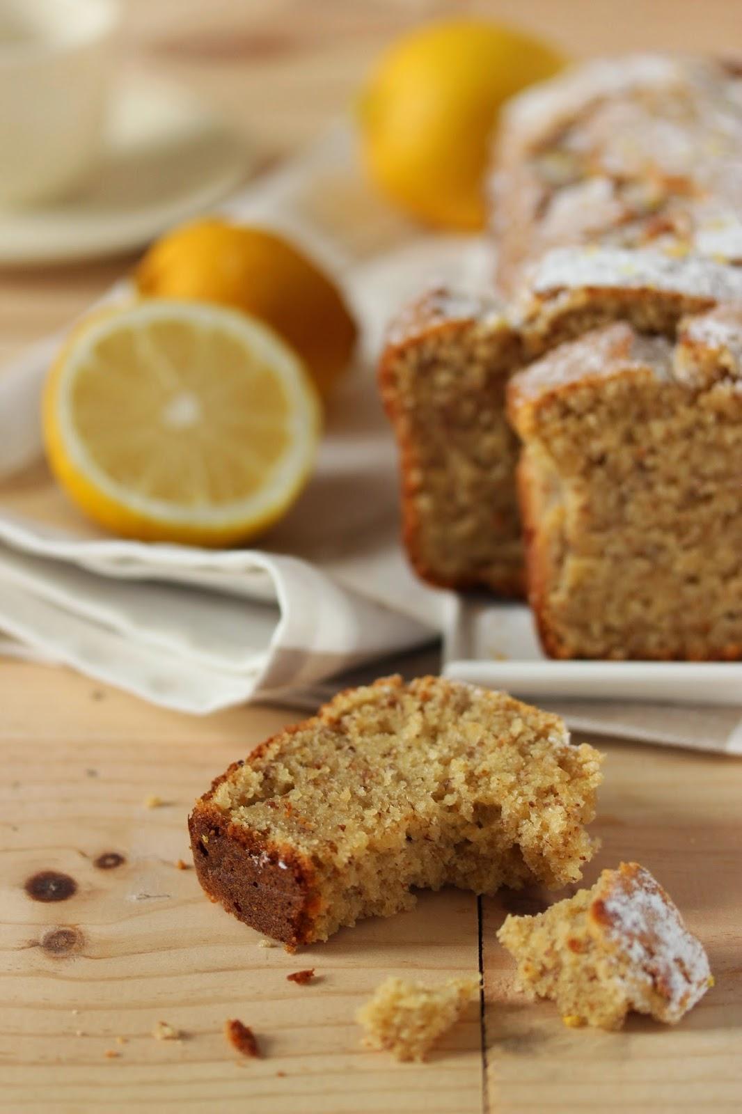 Cake Au Citron De Sophie : citron, sophie, Noisettes, Yaourt, Citron